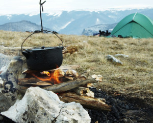 Camping in der Ukraine