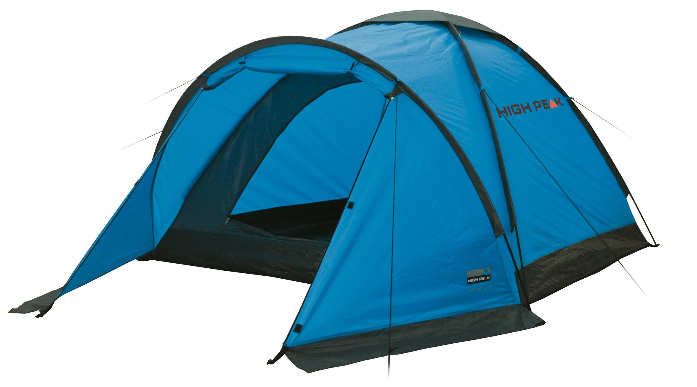 Zelt Ontario 3 : Maxtex high peak ontario campingzelt